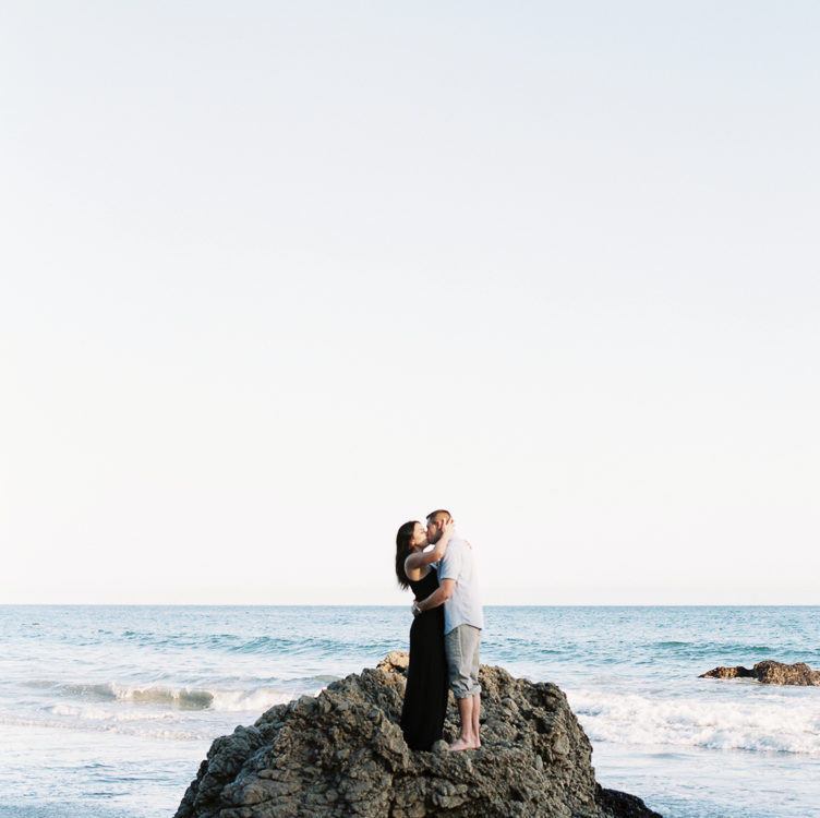 Malibu California Engagement | Brittany + Tyler