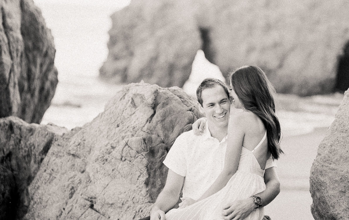 Malibu Engagement | Natalie + Doug