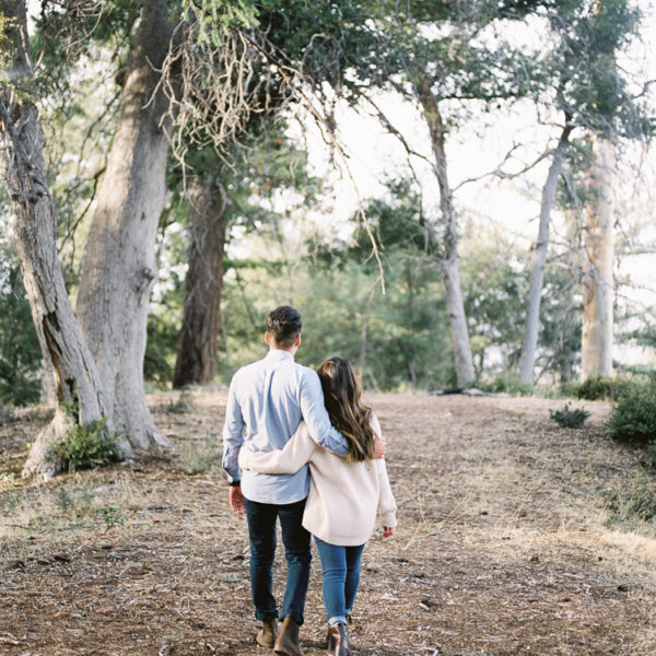 Mount Baldy Engagement | Iza + Carlos