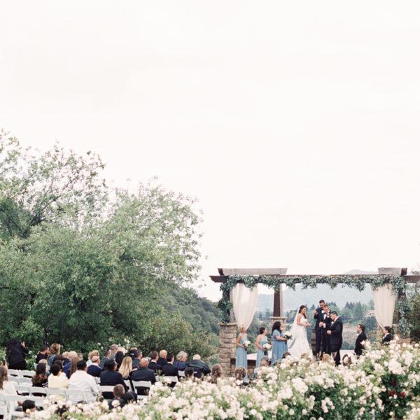 Serendipity Garden Wedding | Brittany + Tyler