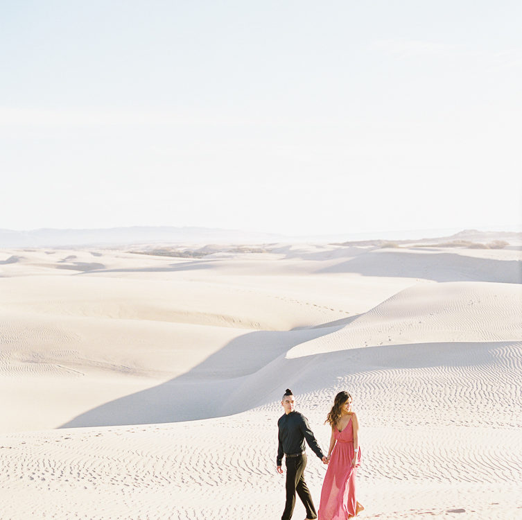 Sand Dune Engagement | Henedine + William