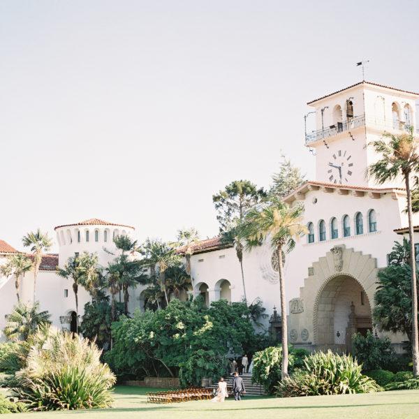Santa Barbara City Hall Wedding | Steffi + Jack