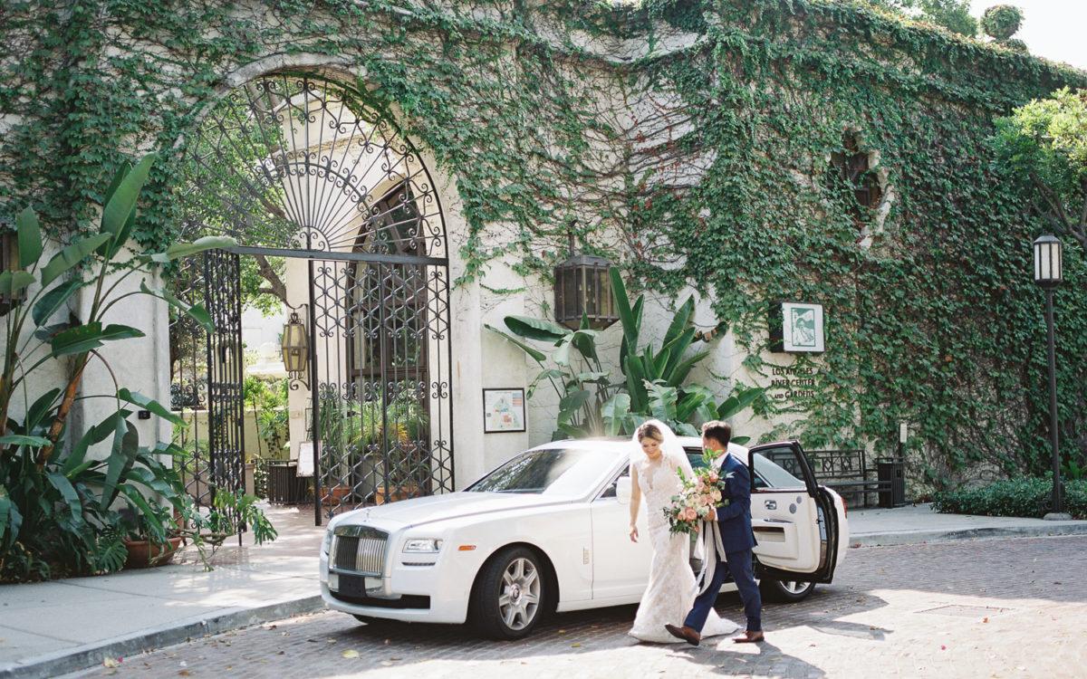 Los Angeles River Center & Gardens Wedding | Diana + Daniel