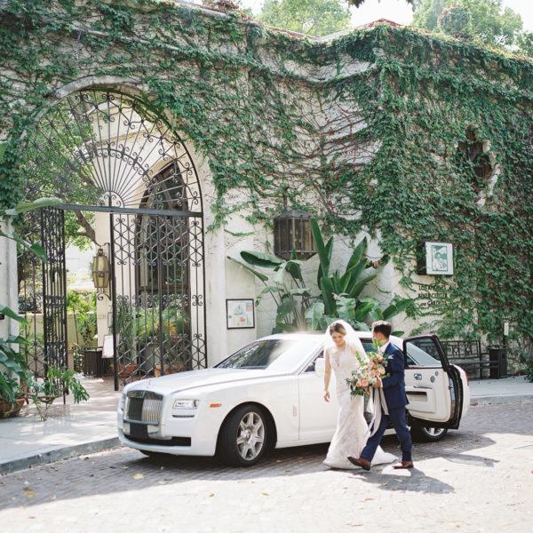 Los Angeles River Center & Gardens Wedding   Diana + Daniel